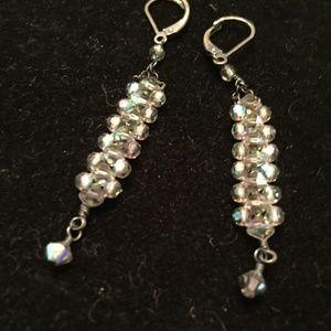 Jewelry - Crystal Drop Earrings